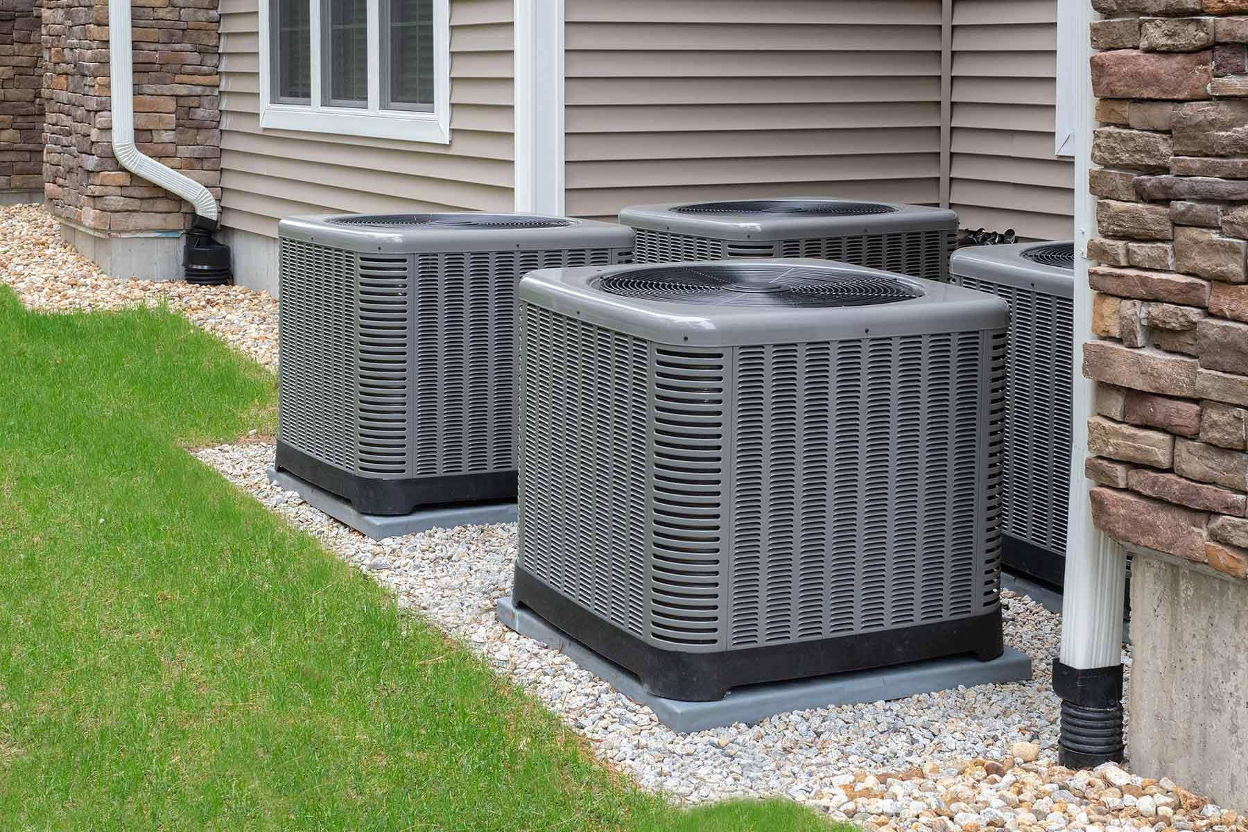 four-heat-pump-units-powering-house-fresno-ca